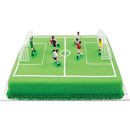 Pme Fs009 Kit Calcio Per Decorazione Torte Alluminio Multicolore Amazon It Alimentari E Cura Della Casa