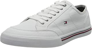 Tommy Hilfiger Core Corporate Textile Sneaker, Company Baskets Homme