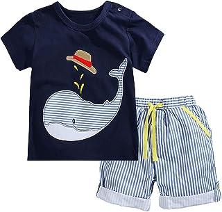 Little Boys' Cotton Clothing Short Baby Sets