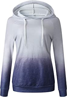 Howely Womens Casual Winter Fall with Pockets Sweatshirt Pullover Hoodie Top