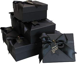 【 サイズ選べる 】iikuru ギフトボックス アクセサリー ギフト ラッピング 箱 ラッピングボックス ジュエル 包装 パッケージ 8個セット y310