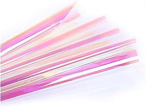 Kleur Film Window Glas Sticker Warmte Isolatie Zonnebrandcrème Cellofaan Transparant (Size : 1m x 0.5m)