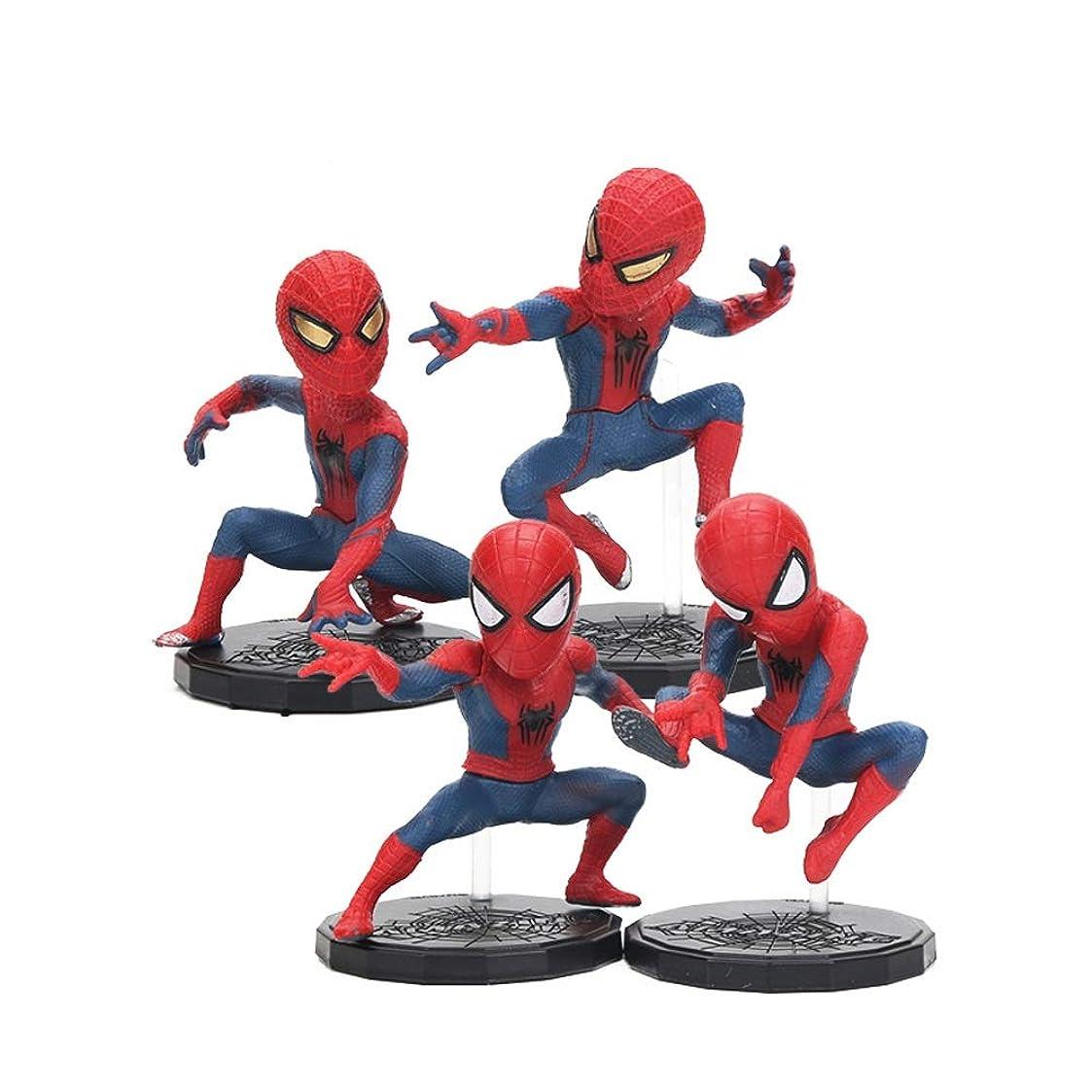 崩壊支配する開いたYEZI パーソナライズされたクリエイティブ玩具 トイ - ミラクルトイ - アベンジャーズ3 - スパイダーマン+恐竜+ブルーアバター 誰もがそれを好きになるでしょう (Design : 6 people)