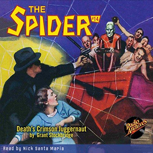 Spider #14 November 1934 audiobook cover art