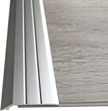 Drempelovergangsstrip Aluminium Legering Randstrook PVC Vloerdrempel 1.2M Zelfklevende SPC Stenen Plastic Floor Sluiting S...