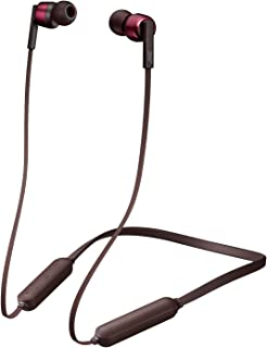 JVC HA-FX67BT-R ワイヤレスイヤホン Bluetooth対応/連続7時間再生/ソフトバンド採用/生活防水//マグネット内蔵 レッド