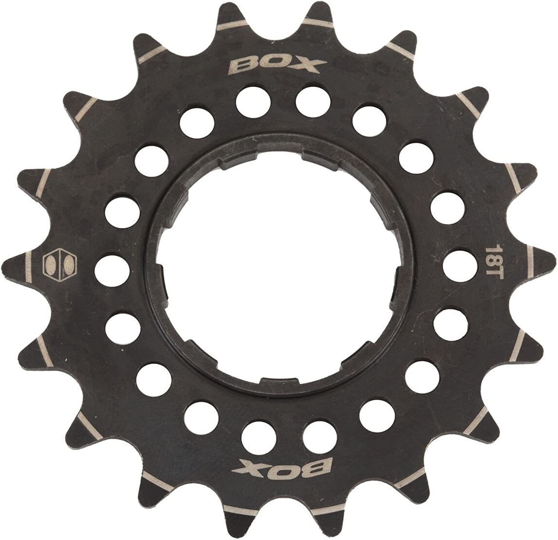 Box Components Pinion 3 32  CNC Cr-Mo 13T Cog, Black