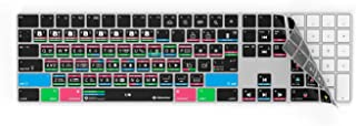 Davinci Resolve 16 Keyboard Cover Skin for Apple Magic Keyboard with Numeric Pad   Wireless Keyboard   Editors Keys   Only for Magic Keyboard with Numeric Pad. (with Lightning Charging.)