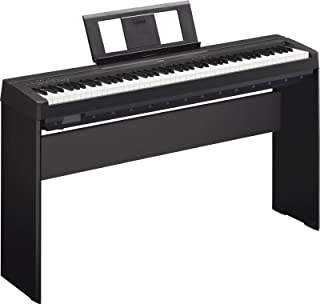 Yamaha P45 - Piano digital portátil, con atril