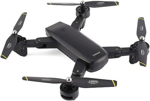 Ballylelly SG700 2.4G RC Drone Quadcopter Pliable avec 720P HD WiFi FPV Caméra Optique Flux Position Altitude Tête Mode
