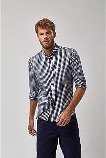 Camisa BD Vichy - Marinho