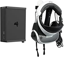 Monzlteck Wall Mount for ps4 VR (gen2), Headset,Move...