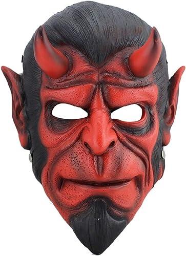 popular Halloween Máscara De Payaso, Payaso, Payaso, Hell Baron Cabeza Máscara, Creative Diverdeido Resina Vizard Máscara, Fiesta, Mascarada Y Máscara De Cosplay  precio razonable