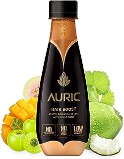 12 Bottles of Auric Plant Based Biotin For Anti Hair fall, Premature Greying, Hair Growth, With Brahmi, Aloe Vera, Amla (V...