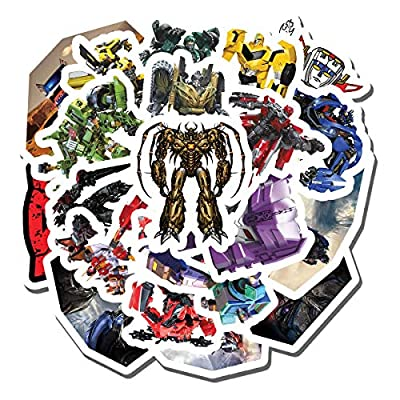 20 PCS Stickers Pack Transformers Aesthetic Vinyl Colorful Waterproof for Water Bottle Laptop Scrapbooking Luggage Guitar Skateboard
