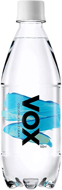 Amazon Vox ヴォックス 強炭酸水 ストレート 500ml 24本 Vox Colorless Clear 食品 飲料 お酒 通販