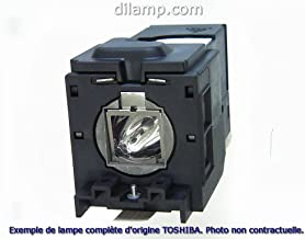 TLP-XD2000 Toshiba Projector Lamp Replacement. Projector Lamp Assembly with Genuine Original Phoenix Bulb Inside.