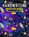 Handwriting Practice Paper With Lines For Kids: Stuff Handwriting Practice Paper With Dotted Lined Sheets for Kids, Kindergarteners, Preschoolers, And toddlers
