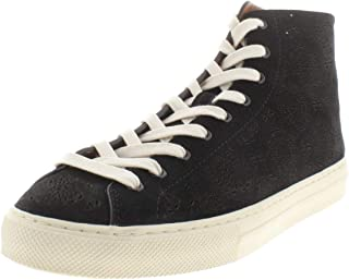 Coach Womens c216 Prrvt Leather Low Top Lace Up Fashion Sneakers US