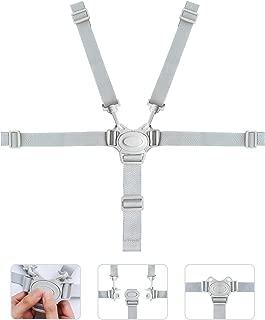 kortes High Chair Straps, Adjustable Harness Baby Safety Strap Belt for Stroller Pushchair Pram Buggy High Chair Baby Harness Safety Harness Strap Belt