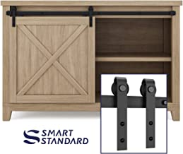 cabinet sliding door track kit