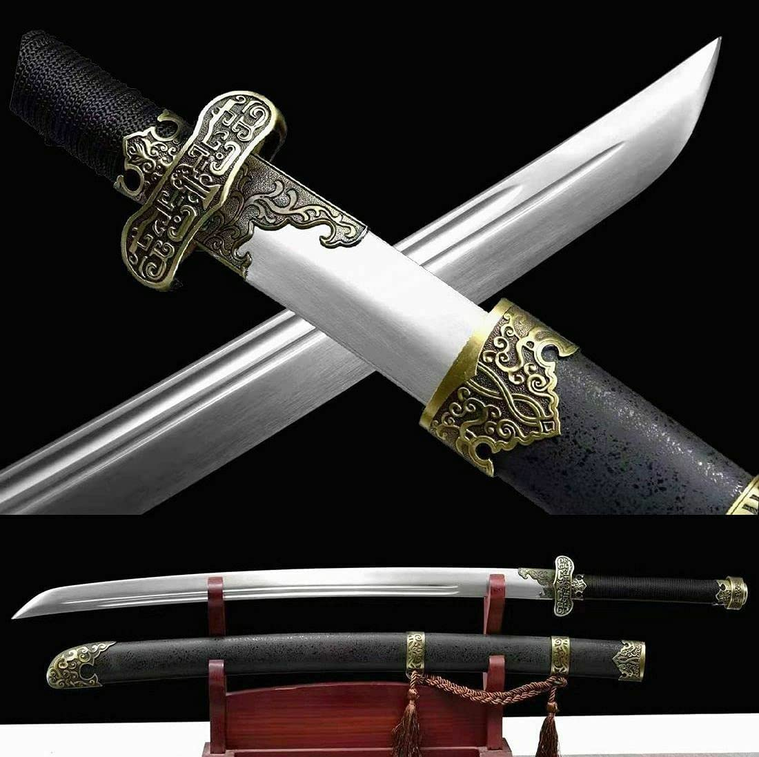 YL Sword Powerful Chinese Kung Steel Sharp Spring Fu OFFer Blade Dealing full price reduction