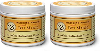 Medicine Mama's Apothecary Sweet Bee Magic All in One Healing Skin Cream, 2 Count/8 Ounces Total
