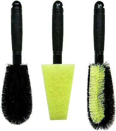 winomo 1/Jeu de brosses de voiture de voiture de pneus de roue brosse de lavage /à la main de brosses de d/étail de brosse pour nettoyage de voiture