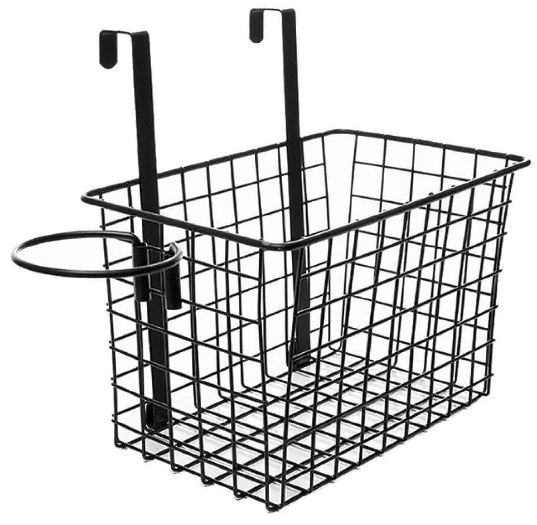 花火クスコ定義[ルボナリエ] バスケット ヘア ドライヤー ホルダー ドアハンガー 壁 取り付け 収納 ボックス キャビネット 鉢植え 多機能 ブラック