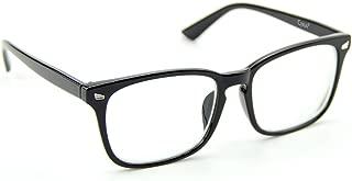 Cyuxs Blue Light Filter Nearsighted Myopia Glasses, [Anti Eyestrain] [UV Blocking] Cell Phone Computer Reading Glasses, Men & Women (Strength: -1.5)