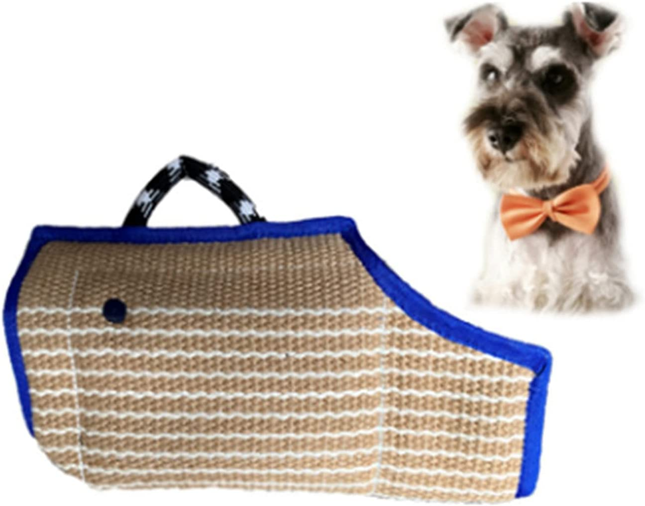 Inventory cleanup selling sale HelloCreate Dog Bite Sleeve Durable Powerful and List price Jute Double