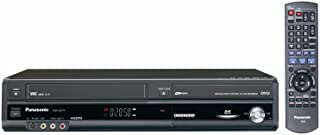 Panasonic DMR-EZ47V Up-Converting 1080p DVD-Recorder/VCR Combo with Built In Tuner (2005 Model) (Renewed)