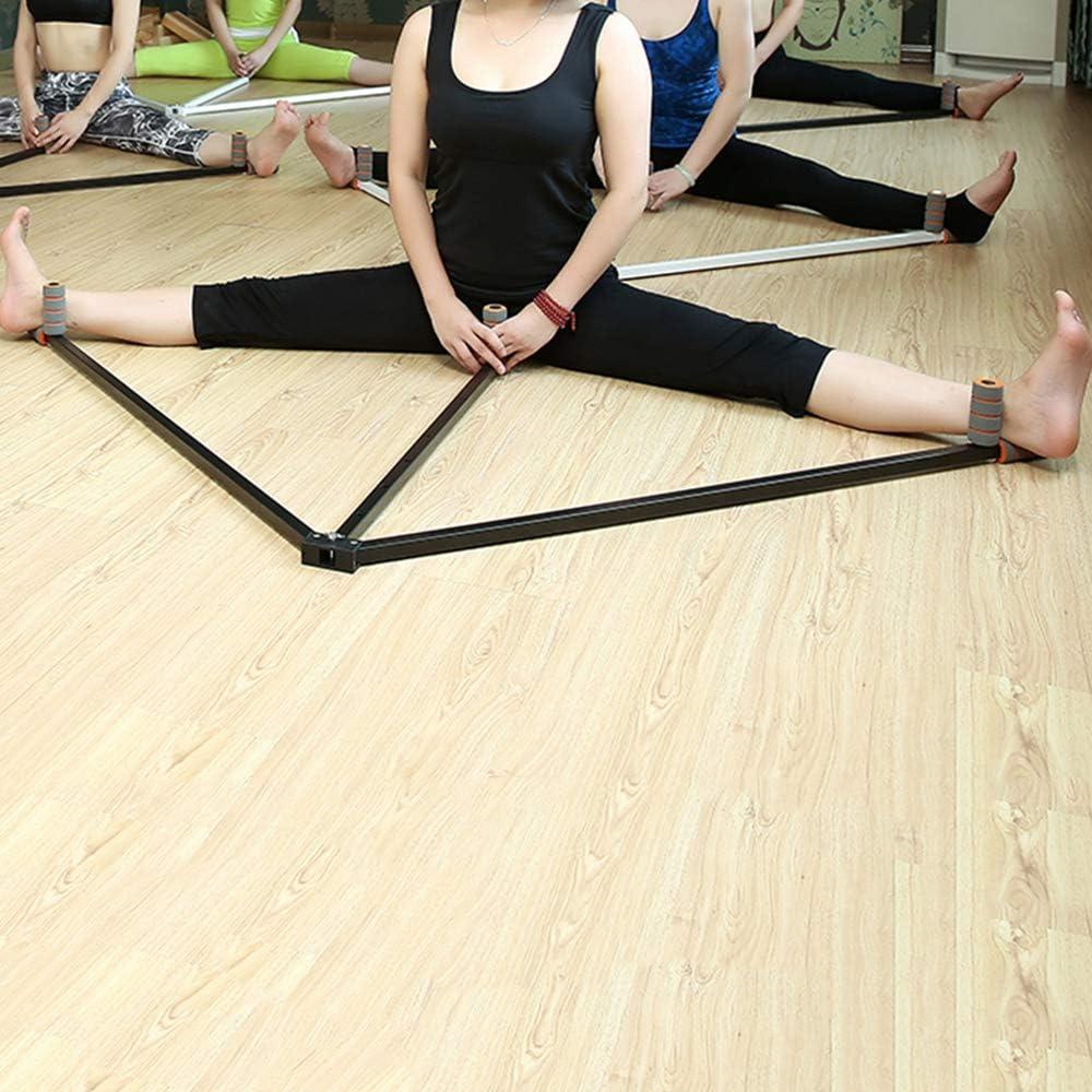 Taekwondo Y Gimnasia,Plata MMA Danza Yoga Adecuado para Los Ni/ños De Ballet Equipo De Estirado Adultos Pierna Abridor De Camilla Pierna Material De Acero Camilla