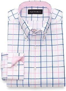 Men's Classic Fit Pure Cotton Tattersall Dress Shirt