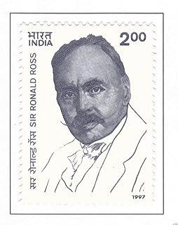INDIA 1997 Sir Ronald Ross Malaria Parasite Discover Chemist Medicine stamp Stampbazar