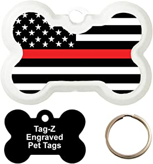 Customized Red Line Flag Pet