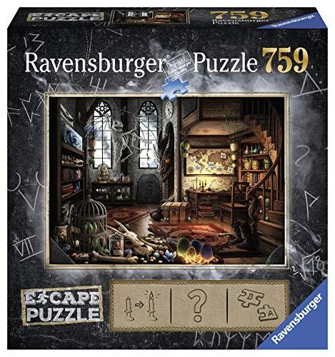 Ravensburger Puzzle, 759 Piezas, Escape the Puzzle - Dragón, para adultos, Rompecabezas de calidad