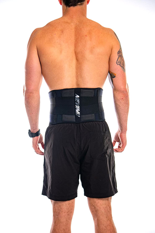 Nevin Sports Med LRS Support X-Small Lumbar Black Very Minneapolis Mall popular