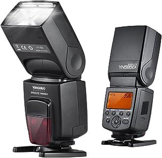 P-Ttl، YONGNUO YN585EX P-TTL Wireless Speedlite Flash Light GN58 HSS 1/12000s SP S1 S2 Slave AF-help ستارة خلفية SYNC LCD ...