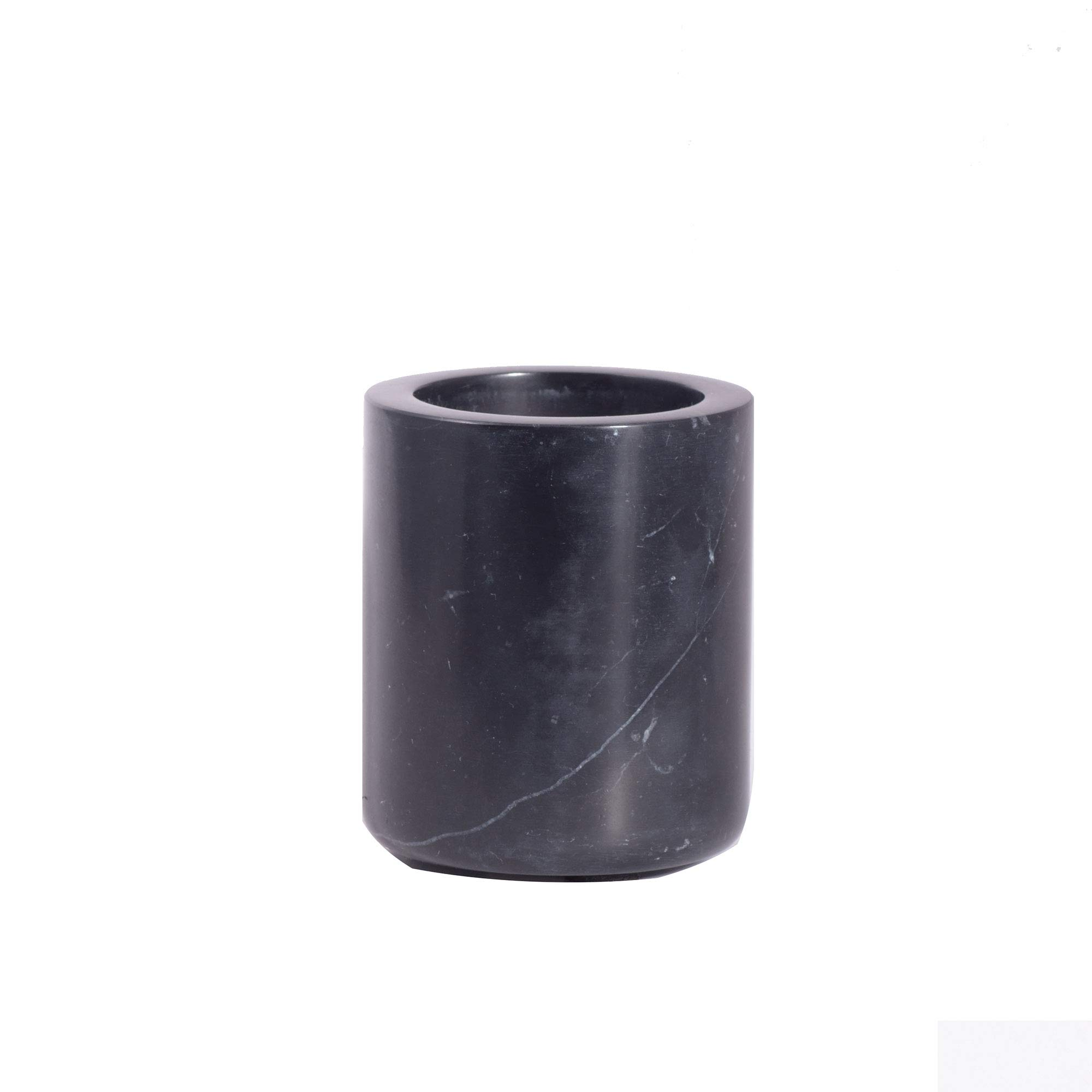 Vaso para cepillos de Dientes m/ármol Negro houseproud Marquina