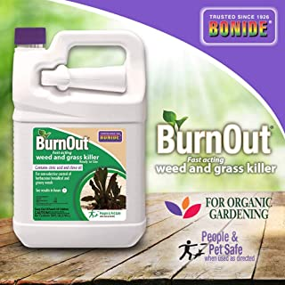 Bonide (BND7492) - Ready-to-Use Burnout, Fast Acting Weed and Grass Killer (1 gal.)