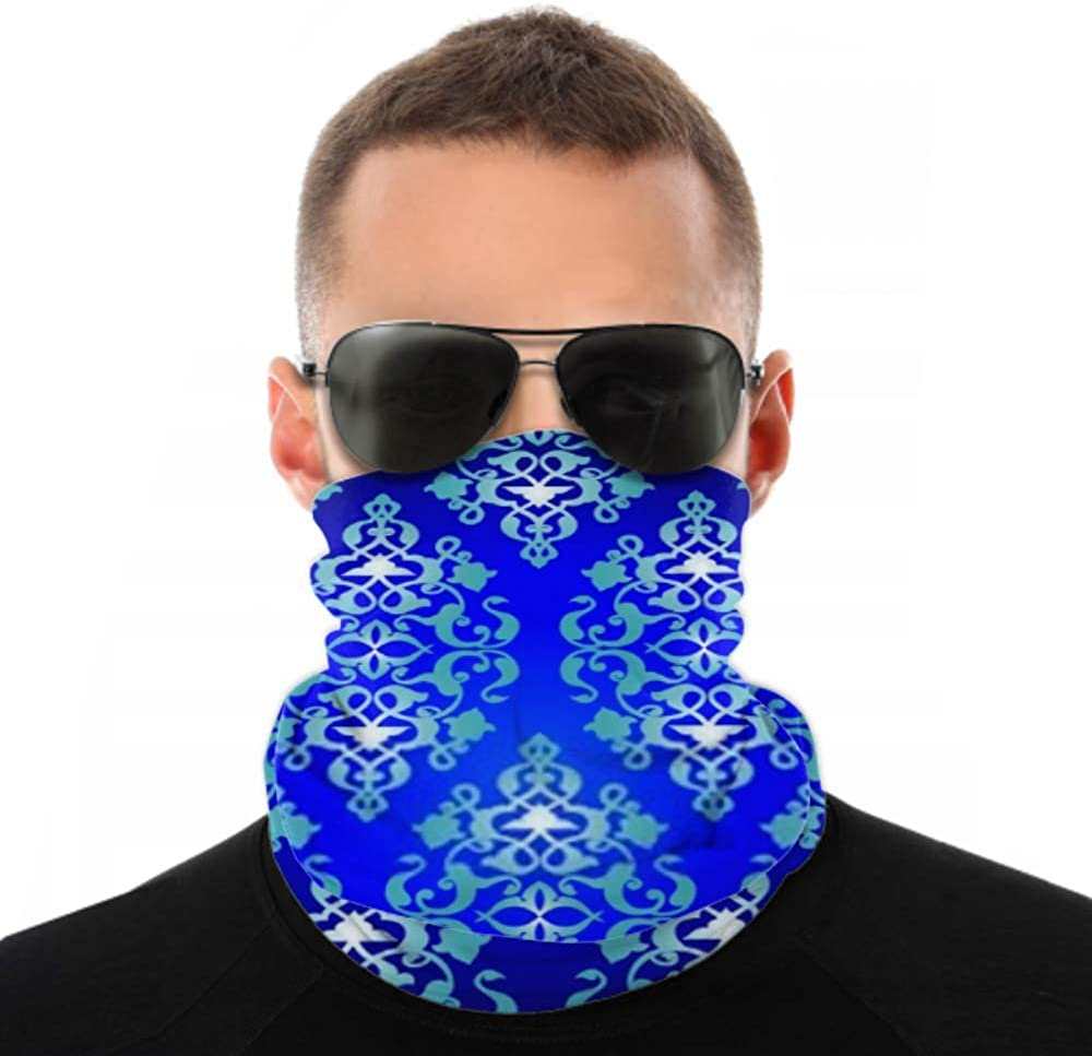 Headbands For Men Women Neck Gaiter, Face Mask, Headband, Scarf Colorful Antique Ottoman Turkish Design Pattern Turban Multi Scarf Double Sided Print Hair Bands For Sport Outdoor