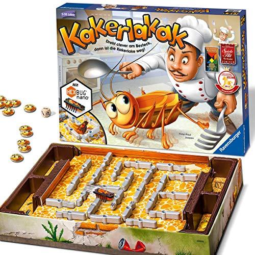 Ravensburger Kinderspiele 22212 - Kakerlakak 22212 - Spiel für Kinder ab 5 Jahren