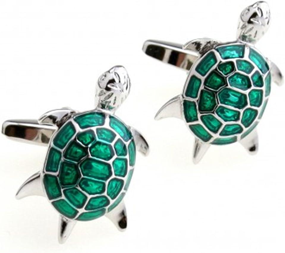 Cufflinks Men's Turtle Design Cuff Links Wedding Business Shirt Studs 2pcs/Set