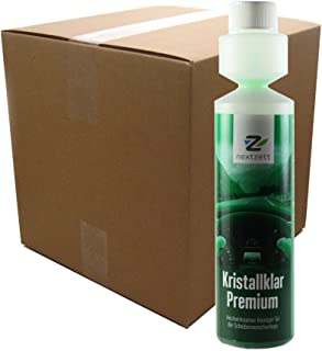 nextzett 92101115 Kristall Klar Washer Fluid Concentrate - 8.5 fl oz,  12 Pack,  Ounces
