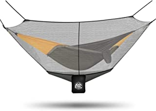 ETROL Hammock Mosquito Net, Universal Polyester Bug Mesh Net, Easy Setup Anti - Mosquitos and Insects with 360° Protection for Health and Safety, Keep in Peace, Fits All Hammocks, 10FT