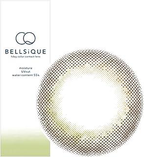 カラコン BELLSiQUE ベルシーク ワンデー UV 1箱10枚 安達祐実モデル 1日使い捨て カラーコンタクト ([-3.50], ルースヘーゼル)