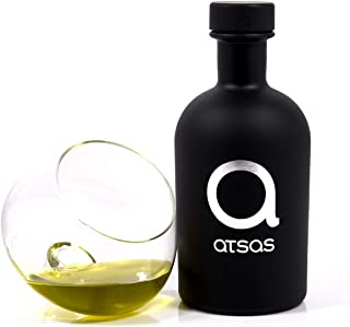 Pure Organic Extra Virgin Olive Oil with High Phenolic Content | Rich in Health-Boosting Phenols and Organic Oleocanthal Compound | Premium Product of Cyprus | Harvest 2019 | (Atsas Organic 250ml)