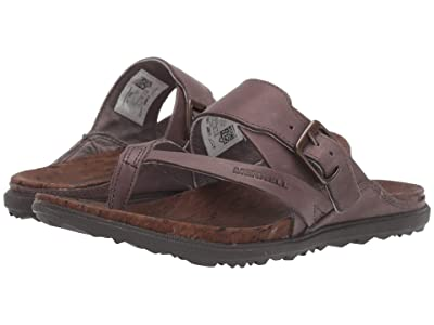 Merrell Around Town Luxe Buckle Thong (Falcon) Women