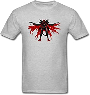 SUNRAIN Men's Anime Highschool DxD Darkness Demon God T Shirt